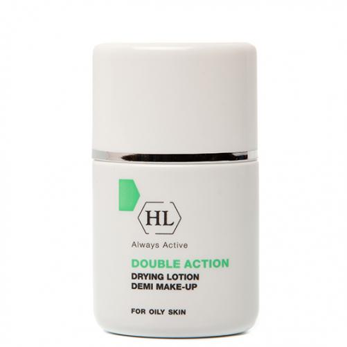 Holy Land DOUBLE ACTION Drying Lotion Demi Make-Up   Подсуш. лосьон с тоном, 30 мл