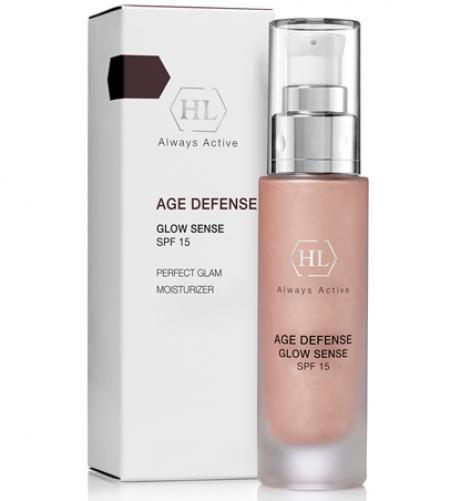 Holy Land AGE DEFENSE Glow Sense (SPF 15)  Крем с декоративным эффектом, 50 мл