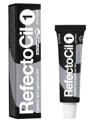Refectocil | Краска для бровей черная №1, 15мл.