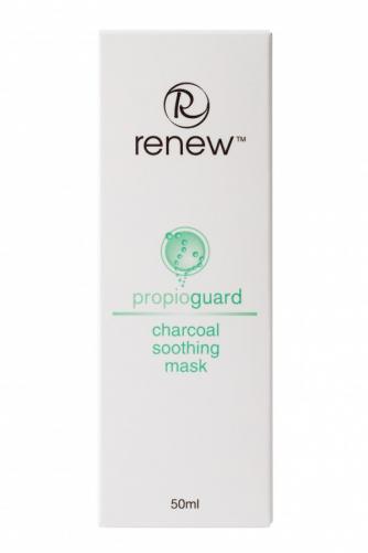 Renew  |Успокаивающая маска на основе активированного угля, 50мл